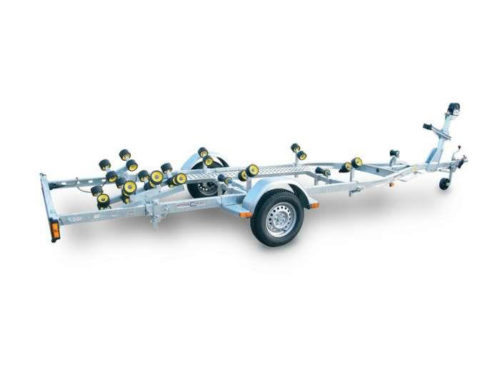 Carrello Stradale N1350B-R-R carrello stradale per barca gommone