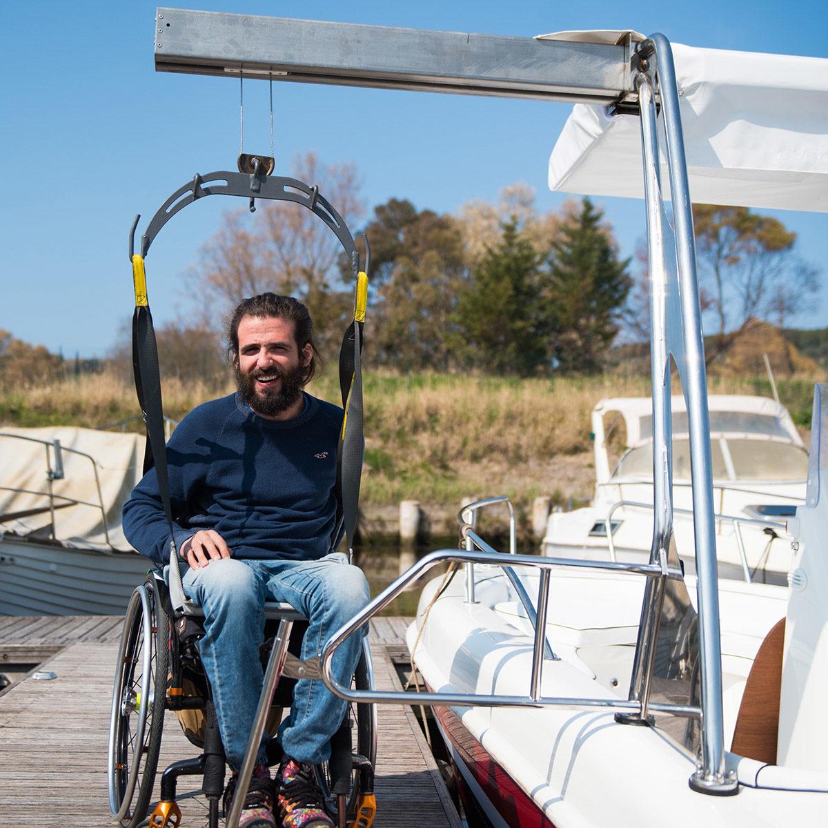 special line accessibilità per gli impianti balneari ai disabili