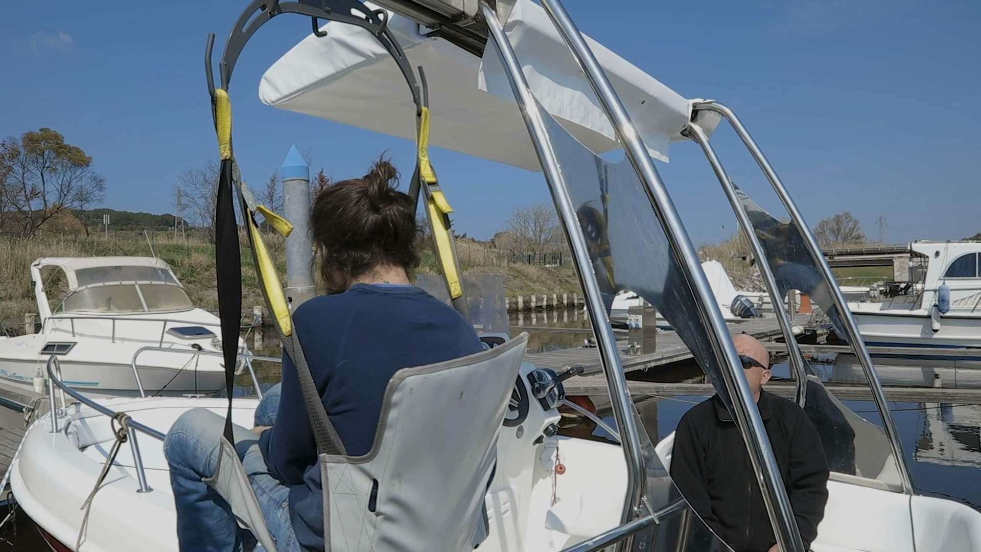 accessibilità impianti nautici grazie a barche e gommoni con sollevatore per disabili fisici